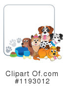 Royalty-Free (RF) Dog Clipart Illustration #1193012