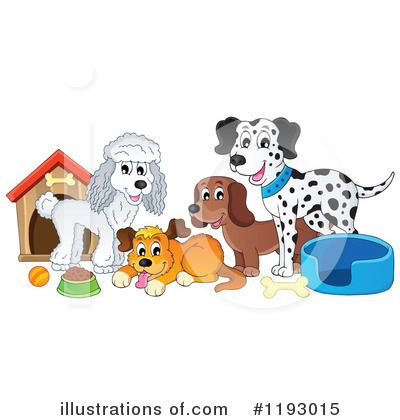 Dog Clipart #1193015 by visekart