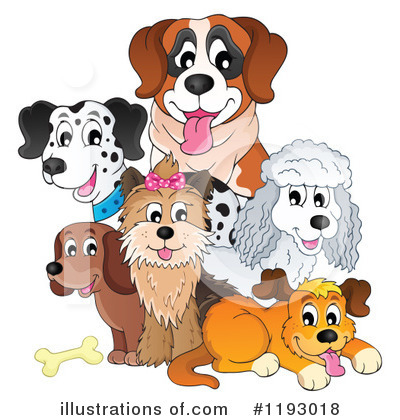 Dog Clipart #1193018 by visekart