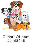 Royalty-Free (RF) Dog Clipart Illustration #1193018