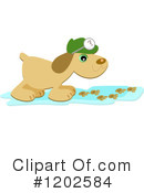 Dog Clipart #1202584 by bpearth