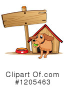 Dog Clipart #1205463 by Graphics RF