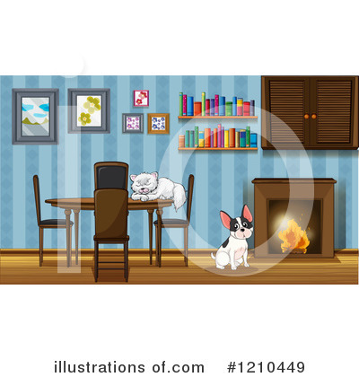 Fireplace Clipart #1210449 by Graphics RF