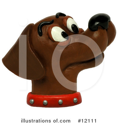 Labrador Clipart #12111 by Amy Vangsgard