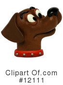 Royalty-Free (RF) Dog Clipart Illustration #12111