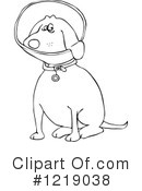 Dog Clipart #1219038 by djart