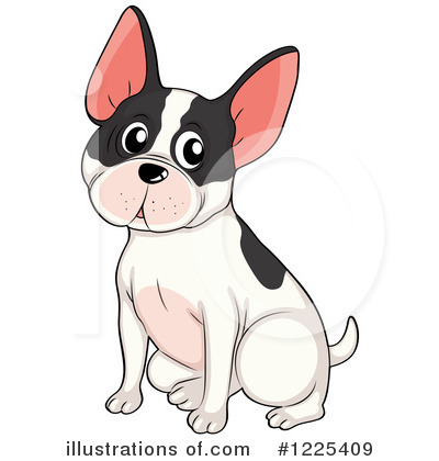 French Bulldog Clipart #1225409 by Graphics RF