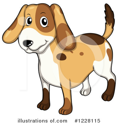 Dog Clipart #1228115 by Graphics RF