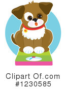 Dog Clipart #1230585 by Maria Bell