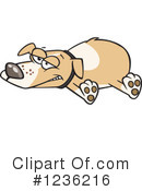 Dog Clipart #1236216 by toonaday