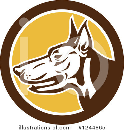 Guard Dog Clipart #1244865 by patrimonio