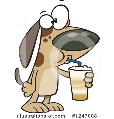 Drinking Clipart #1247008 by toonaday