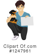 Dog Clipart #1247961 by BNP Design Studio