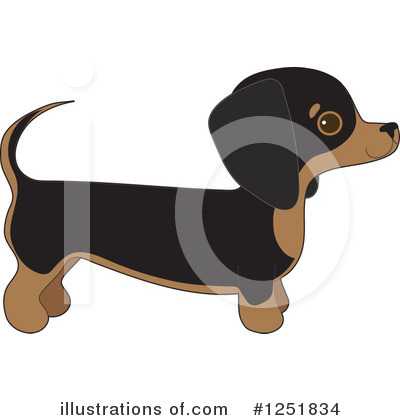 Royalty-Free (RF) Dog Clipart Illustration by Maria Bell - Stock Sample #1251834