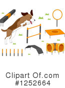 Royalty-Free (RF) Dog Clipart Illustration #1252664
