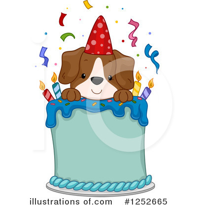 Birthday Clipart #1252665 by BNP Design Studio