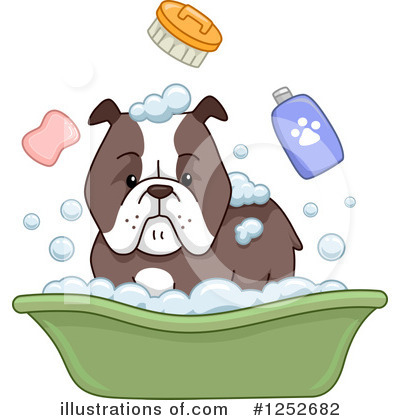 Bulldog Clipart #1252682 by BNP Design Studio