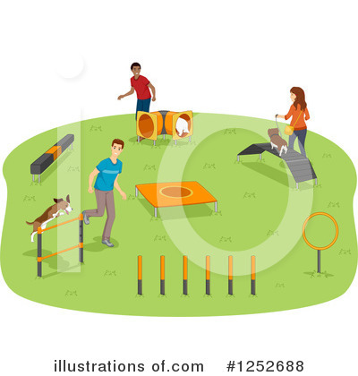 Obstacle Course Clipart #1252688 by BNP Design Studio