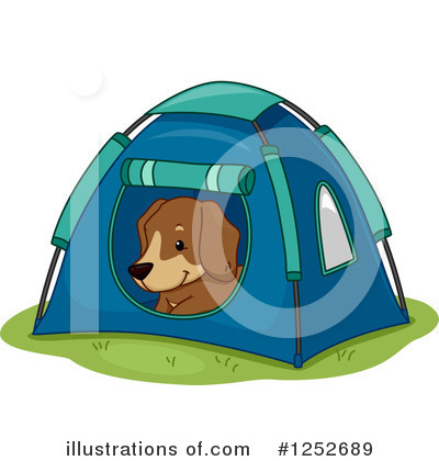 Tent Clipart #1252689 by BNP Design Studio