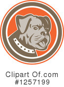 Royalty-Free (RF) Dog Clipart Illustration #1257199