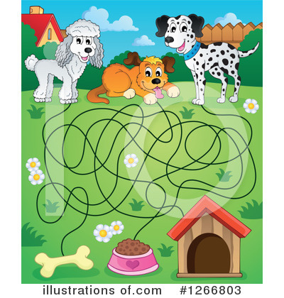Maze Clipart #1266803 by visekart
