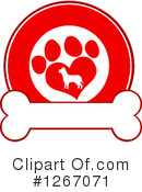 Royalty-Free (RF) Dog Clipart Illustration #1267071