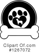 Royalty-Free (RF) Dog Clipart Illustration #1267072