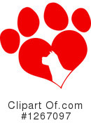 Royalty-Free (RF) Dog Clipart Illustration #1267097