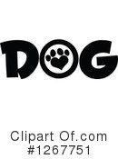 Royalty-Free (RF) Dog Clipart Illustration #1267751