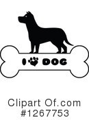 Royalty-Free (RF) Dog Clipart Illustration #1267753
