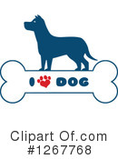 Royalty-Free (RF) Dog Clipart Illustration #1267768