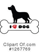 Royalty-Free (RF) Dog Clipart Illustration #1267769