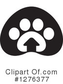 Royalty-Free (RF) Dog Clipart Illustration #1276377