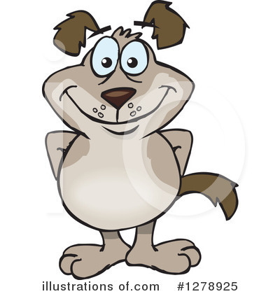 Dog Clipart #1278925 by Dennis Holmes Designs