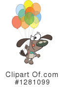 Dog Clipart #1281099 by toonaday