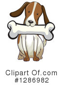 Dog Clipart #1286982 by Graphics RF