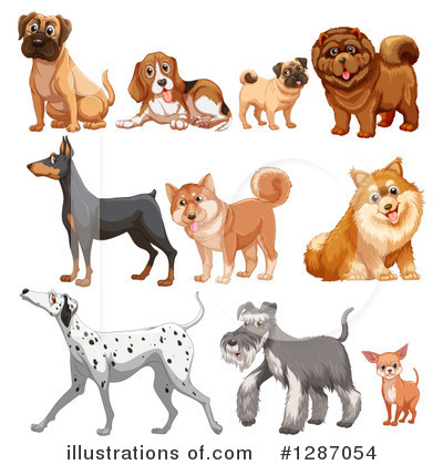 Schnauzer Clipart #1287054 by Graphics RF