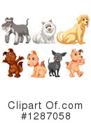 Dog Clipart #1287058 by Graphics RF