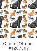 Dog Clipart #1287067 by Graphics RF
