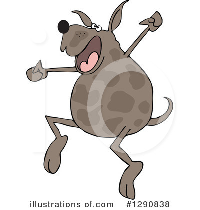 Dog Clipart #1290838 by djart