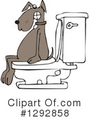 Royalty-Free (RF) Dog Clipart Illustration #1292858