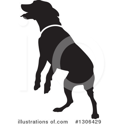 Dog Clipart #1306429 by Lal Perera