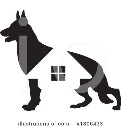 Dog Clipart #1306433 by Lal Perera