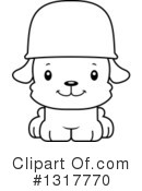 Dog Clipart #1317770 by Cory Thoman