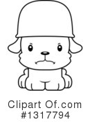 Dog Clipart #1317794 by Cory Thoman