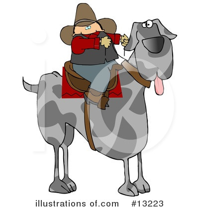 Royalty-Free (RF) Dog Clipart Illustration by djart - Stock Sample #13223