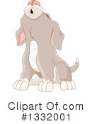Dog Clipart #1332001