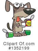Royalty-Free (RF) Dog Clipart Illustration #1352199