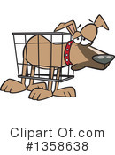 Royalty-Free (RF) Dog Clipart Illustration #1358638