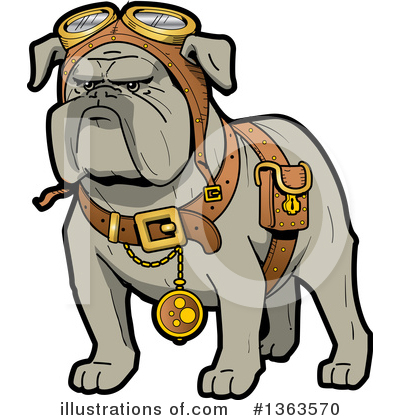 Steampunk Clipart #1363570 by Clip Art Mascots